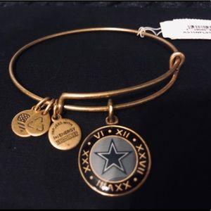 Alex and Ani Dallas Cowboys Bracelet